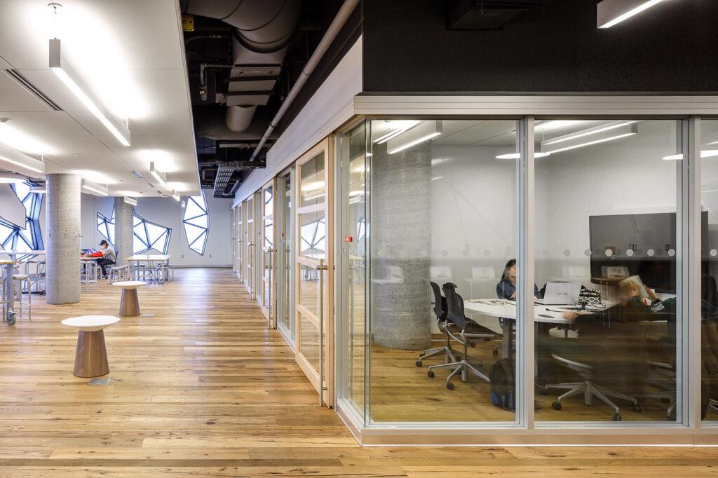 Interior of Bergeron Building