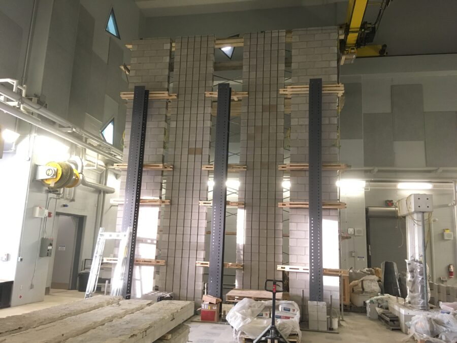 Wall at High Bay Lab