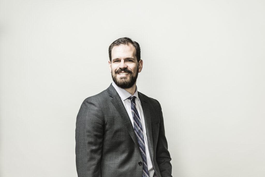 Headshot of professor Garret Melenka