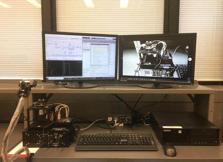 Figure 1: Remote lab setup