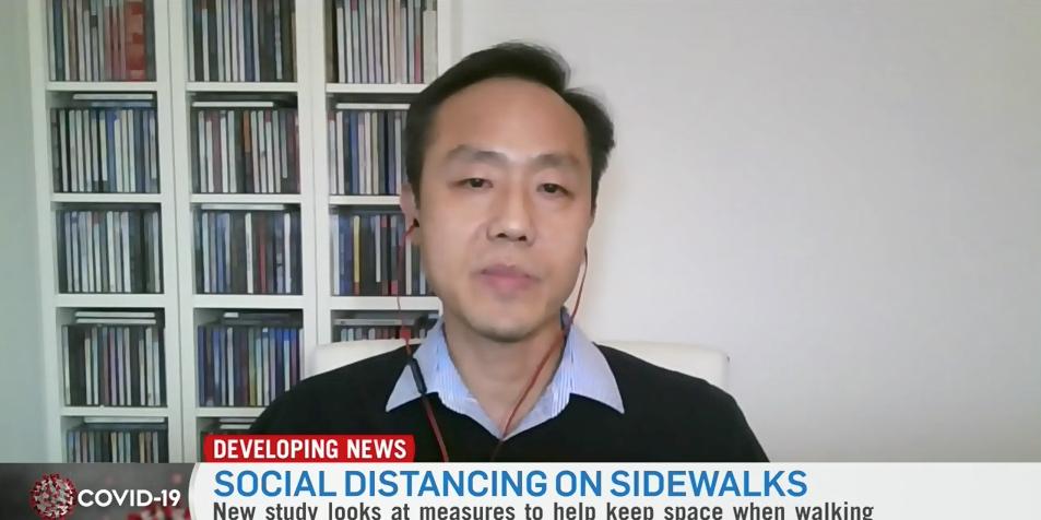 Screenshot of Peter Park on CTV