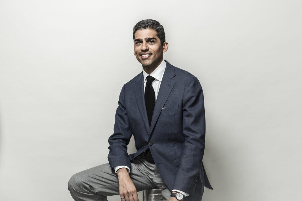 headshot of professor Usman Khan
