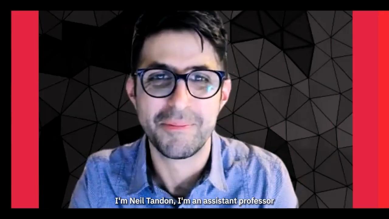 image of professor neil tandon