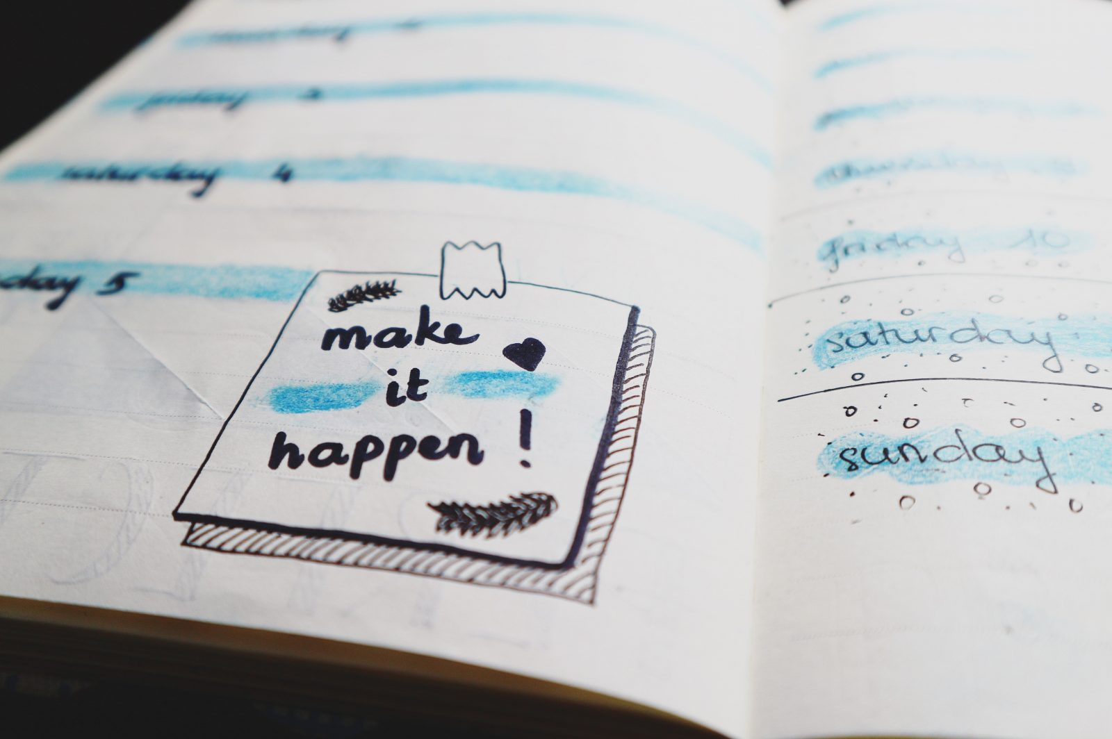 Make it happen note