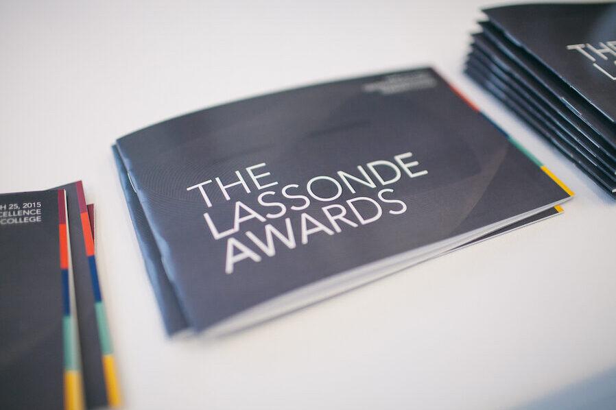 Lassonde awards viewbook